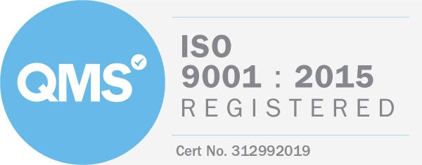 We're ISO Registered